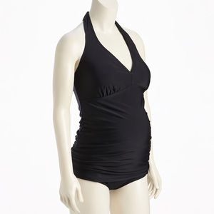 Old Navy Maternity Swim Halter Top